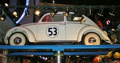 Herbie! (Burkazoid) Tags: winter snow paris france disneyland disney herbie lovebug disneylandparis