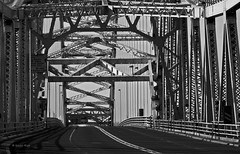 Empty Lanes (Silty Bottom) Tags: bridge runcorn runcornbridge runthebridge