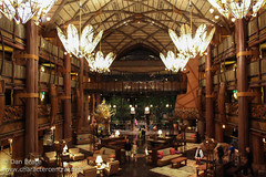 Dinner at Animal Kingdom Lodge