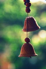 EARTHEN BELLS (nut_bolt) Tags: street india green bells canon bokeh maharashtra manual tamron pune nigdi