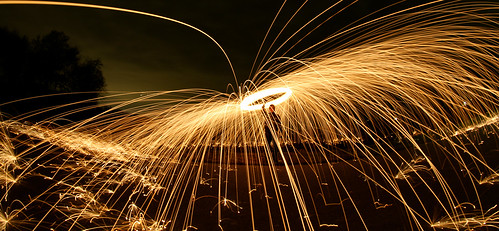 Steelwool Photography Lightpainting