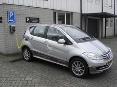 netherlands arnhem nederland mercedesbenz aklasse electriccar acar 2013 ecell