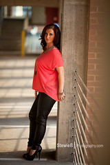 _MG_3814 (StewieB Photography) Tags: hot beautiful leather mom model pants pregnant maternity heels sharilyn