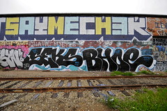 SEKS, BHOE (STILSAYN) Tags: california graffiti oakland bay area chek seks 2013 sayme bhoe