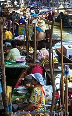 Damnoen Saduak I Thailand I Asia (Aman Iman ) Tags: people river thailand canal asia thalande rivire asie floatingmarket damnoensaduak khlong marchflottant