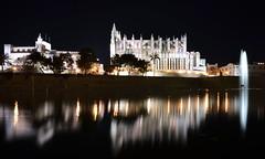 Reflejos de La Seu - EXPLORED! Thank you :-) (Fotomondeo) Tags: españa architecture reflections spain arquitectura nikon cathedral catedral mallorca palma reflejos sigma1020mm laseu nikond7000