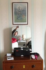 099 Tuesday, 9th April 2013 (Margaret Stranks) Tags: morning lamp statue radio mirror peterpan mug kensingtongardens 365days 2013 099365