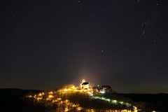 Wartburg Castle at night *2012* EXPLORE 14/04/13 (tobfl) Tags: castle night stars lights shot wartburg