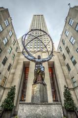 New York City       Looking up at Atlas (JB_1984) Tags: nyc newyorkcity usa ny newyork statue bronze unitedstates manhattan rockefellercenter midtown atlas fifthavenue bigapple hdr highdynamicrange