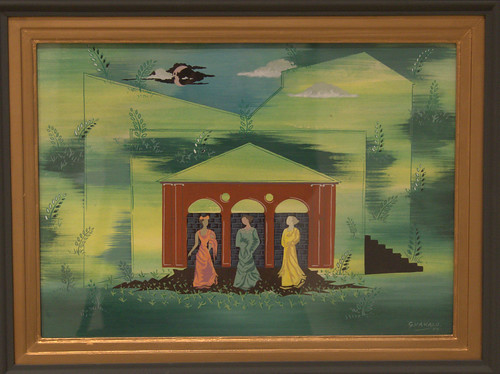 """""""Imaginary space, 1951"""", Giorgos Vakalopoulos(Vakalo)"""