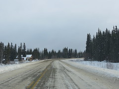 Driving between Dawson City and Stewart Crossing (jimbob_malone) Tags: yukon 2013 northklondikehighway