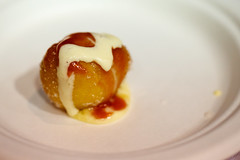 rhubarb-glazed Italian-style doughnut - Cafe Spiaggia - Baconfest 2013.jpg (opacity) Tags: food chicago illinois il baconfest cafespiaggia uicforum baconfestchicago chicagobaconfest baconfest2013 baconfestchicago2013 chicagobaconfest2013 baconfest2013dishes rhubarbglazeditalianstyledoughnut