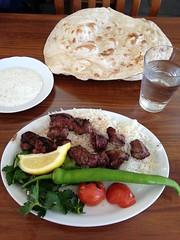 Lunch 24/4 (Atomeyes) Tags: mat nan vatten ris lamm grnsaker ktt ss vitlk kolgrill