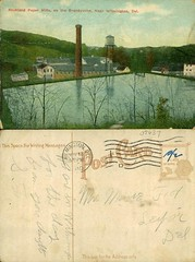 Rockland Paper Mills, on the Brandywine, Near Wilmington, Del. (Delaware Public Archives) Tags: industry water river factory business explosives