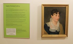 Poet Otto Ludwigs mother (:Linda:) Tags: woman castle museum germany painting town mother poet eisfeld thurigia ottoludwig