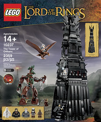 LEGO The Lord of the Rings 10237 - Tower of Orthanc - BoxArt (THE BRICK TIME Team) Tags: brick tower grey lego eagle great lord rings gandalf turm herr hdr orc ringe saruman urukhai pitmaster grima orthanc wormtongue 10237