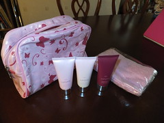 Next Just pink gift set (thank_you_vb) Tags: pink set by ebay hand body auction sold cream polish next just gift lotion thankyouvb