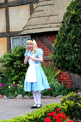 Alice (disneylori) Tags: epcot unitedkingdom alice disney disneyworld characters wdw waltdisneyworld aliceinwonderland worldshowcase disneycharacters facecharacters meetandgreetcharacters aliceinwonderlandcharacters