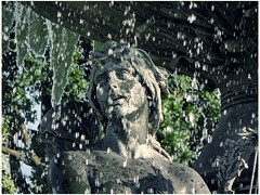 "Skulptur - ""Stilles Wasser, Brunnen - Albertplatz Dresden (Andr-DD) Tags: sculpture water fountain germany deutschland dresden wasser saxony brunnen skulptur sachsen figur alberplatz stilleswasser"