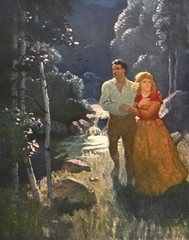 """""""The Lovers"""" by N. C. Wyeth from """"The Last of the Mohicans"""" by James Fenimore Cooper. NY: Scribner's, 1919. First edition (lhboudreau) Tags: book books hardcover hardcovers hardcoverbook hardcoverbooks vintagebook vintagebooks classicbook classicbooks classicnovel classicstory art artist illustrator illustrated illustration illustrations drawing drawings illustratedbook illustratedbooks illustratedclassics bookart wyeth ncwyeth 1919 illustratedclassic vintageillustration vintageillustrations classicillustrator classicillustrations vintagebookillustrations vintagebookillustration lastofthemohicans mohicans thelastofthemohicans cooper jamesfenimorecooper fenimore uncas frenchandindianwar 1757 nattybumppo hawkeye chingachgook americanindian americanindians nativeamerican nativeamericans indians indian charlesscribnerssons scribners charlesscribners firstedition fiction lover lovers alicemunro heyward"""