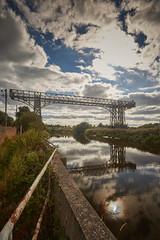 Warrington transporter bridge (another_scotsman) Tags: warrington transporter bridge mersey river