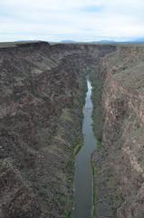 DSC_8971 (My many travels) Tags: rio grande gorge bridge new mexico water rocks river