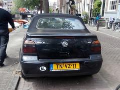 Volkswagen Golf 3 cabrio 1998 nr2038 (a.k.a. Ardy) Tags: tnvz11 tnvz1101 softtop