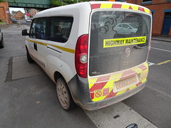 All in the detail (stevenbrandist) Tags: tarmac fiat doblo dirty fh13yrl highwaymaintenance rude silly