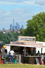 Expresso City (dhcomet) Tags: lambeth country show london brockwell park hernehill skyscrapers shard view distant