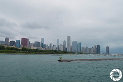 Views from the bike ride (Armin M. Media) Tags: chicago architecture cars lambo aston martin mclaren clouds sky navy pier oprah trump downtown bmw rolls royce tesla lp610 lp700 murcielago marina city bean cloudgate
