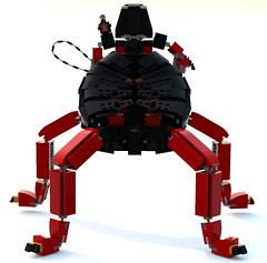 Beetle edition back - small (DraikNova) Tags: lavaria lava demon beetle mech mecha nexoknights nexo knights legonexoknights lego legodigitaldesigner ldd