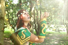 Sigurt in Cosplay (worldthroughaphoto) Tags: sigurt cosplay cosplayer fairy fata original fantasy green spring