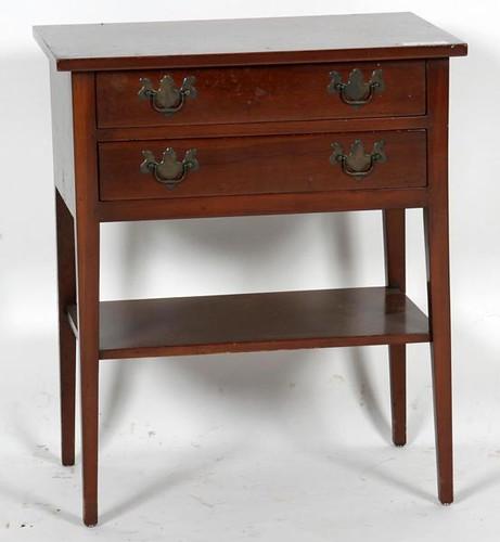 Virginia Craftsman 2 Drawer Bedside Table ($224.00)
