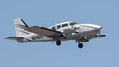 Piper PA-23-250 Aztec N54097 (ChrisK48) Tags: 1974 aircraft airplane aztec dvt kdvt n54097 phoenixaz phoenixdeervalleyairport piperpa23250