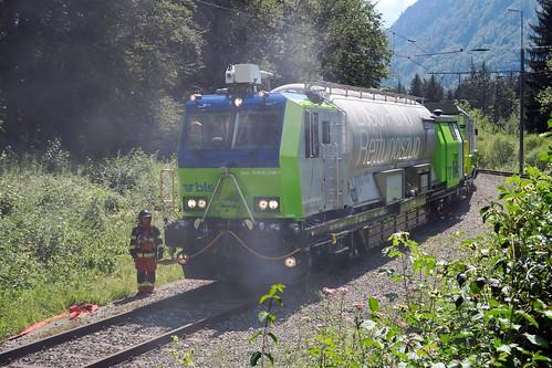 Spiez - Hondrichtunnel 1 BLS