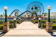 Landscape of Disneyland California Adventure Park (RussellK2013) Tags: disney waltdisney california anaheim disneylandcaliforniaadventurepark nikon nikkor d750 1635mmf4ged wide wideangle uwa mickey fair fairground funfair mickeymouse attraction landscape scene landmark