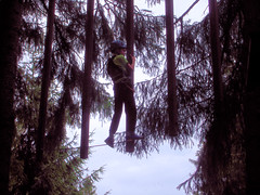 P8234081e (topzdk) Tags: treeclimbing summer 2016 czechrepublic ski slope lanovy park