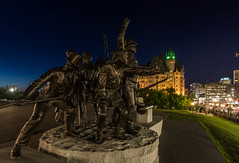 1812 Monument : June 23, 2016 (jpeltzer) Tags: parliamenthill parliament night 1812monument