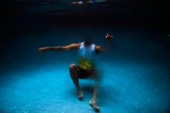 gone (hennyxharmon) Tags: underwaterphotography underwater amanzi blue color swim water peace life disappear norvisjr fluid