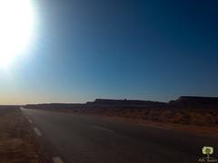 La route reliant Kenadsa  Meridja (Ath Salem) Tags: algrie bchar taghit beni abbes kenadsa barrage djorf torba dsert sahara tourisme dcouverte palmeraie           dunes zousfana saoura