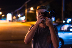 Out In The Night (Evan's Life Through The Lens) Tags: camera sony a7s lens glass 50mm f18 fe af vibrant color beautiful film light dark night exposure