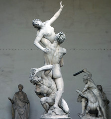 Giambologna, Abduction of a Sabine Woman