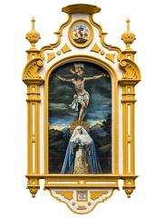 RETABLOS DE SEVILLA (jaseto2009) Tags: retablo museo expiracin aguas azulejo
