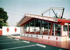 Porst SP Burger Chef 2 () Tags: vintage retro classic film camera losangeles california riverside history west coast architcture porst photo quelle 35mm m42 slr germany chinon cosina japan tiltshift color route66