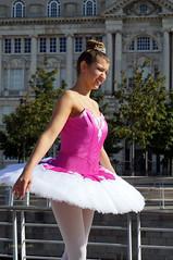 DSC06341 (liverpix) Tags: cleo dog performing anthonywalsh photowalk 500px liverpool pierhead liverbuilding ballerina ballet