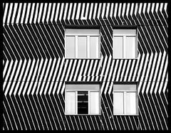 Zig-Zag (albireo 2006) Tags: puglia bari blackwhitephotos blackandwhite blackandwhitephotos blackwhite bw bn windows zigzag italy italia