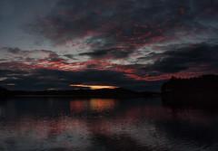 IMG_1533-1 (Andre56154) Tags: schweden sweden sverige wolke cloud himmel sky wasser water see lake ufer sonnenuntergang sunset abend evening dmmerung afterglow spiegelung nacht night reflection