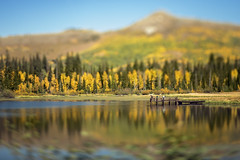 Silver Lake today... (Elle_Zee) Tags: lensbaby edge80 seeinanewway silver lake brighton utah fall