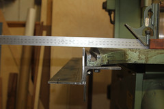 Band Saw Fence - DIY Guide Rails -21