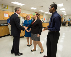 Governor Visits North Point High School